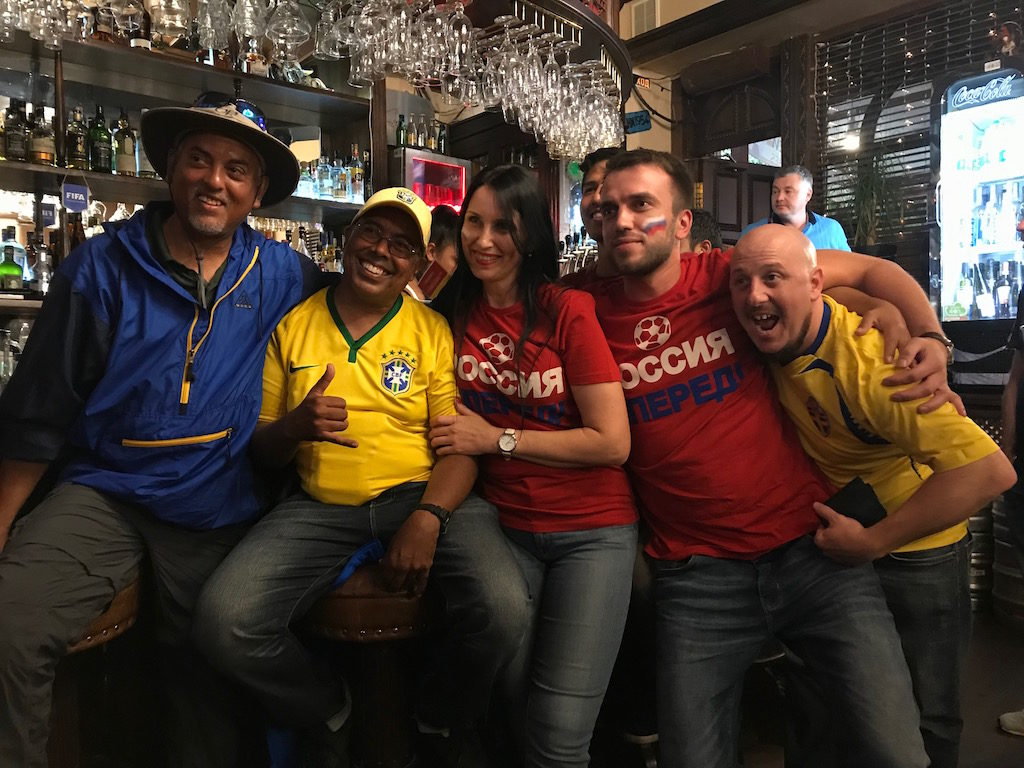 Supporter Coupe du Monde Russie Fiesta bar